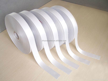 Good quality and cheap 100% polyester double side satin ribbon for clothing label