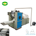 Economical facial tissue production machine
