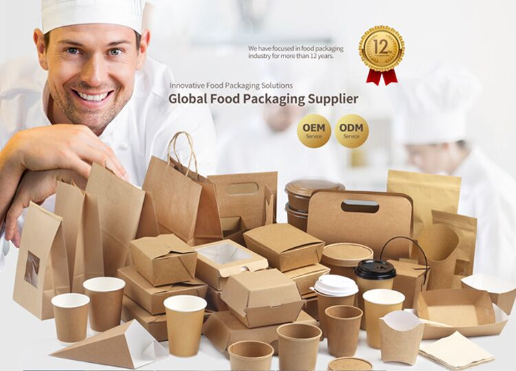 Disposable custom printed kraft fast food takeaway box,Custom Printed food packaging lunch box