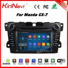 Kirinavi WC-MZ7007 Android 5.1 car player for mazda cx-7 car dvd multimedia system touch screen with mp3/mp4 player wifi 3g bt