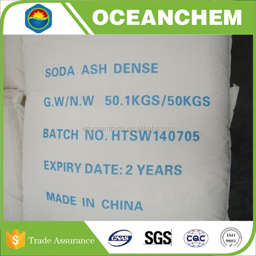 High Quality Industry Grade 99.2% min Soda Ash Dense