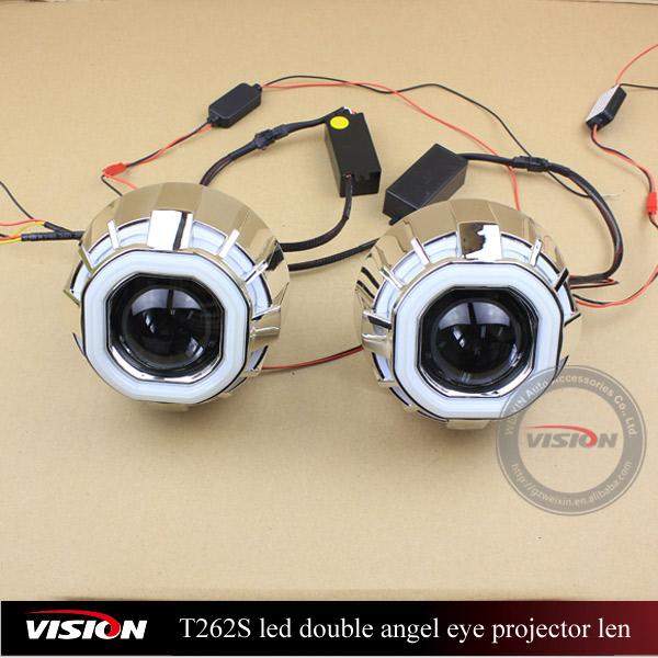 Led Lights Vs Hid Lights For Cars: Iphcar Vs-t262s Car Led Projector Hi/lo Hid Bi-xenon
