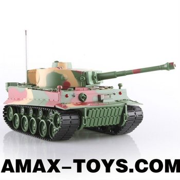 rb-034828 rc tank 1:26 German Tiger I Battle Tank with Light and Sound