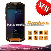 2012 low price Runbo X5 IP67 GPS 3G Bluetooth Wifi Walkie-Talky waterproof android mobile phone rugged cell phone t-mobile