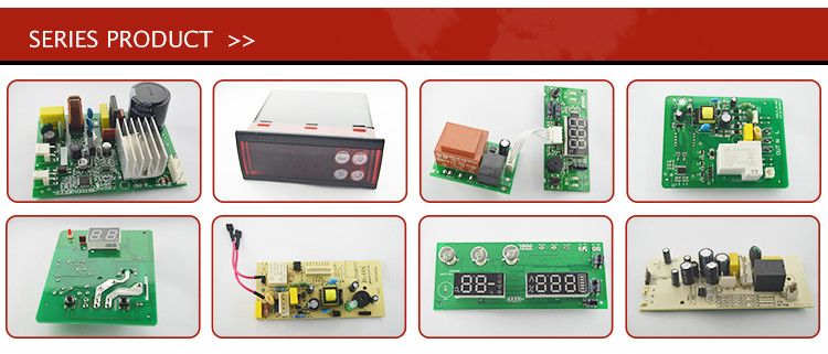 2016 intelligent digital display temperature controller upper and lower limits set two window synchronization display