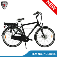 2014 Finland hot sale strong 700C electric cycle rickshaw/pedelec 36V/250W with samsung battery /bafang motor/LCD