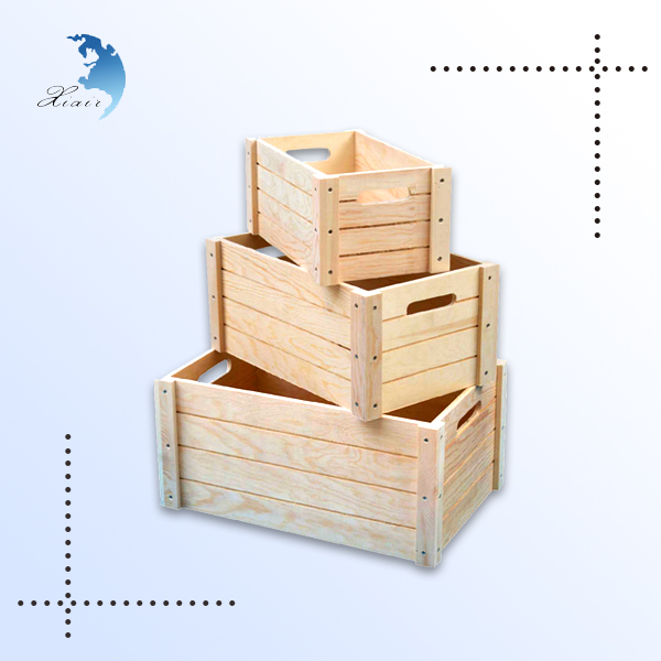 Wholesale printing used vegetable wine cheap wooden fruit crates for sale