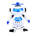 popular interesting smart elecreic toy B/O robot for kids with light and music