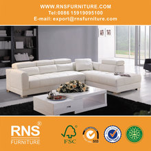 RNS Modern new design top living room sofa modern euro design leather sofa 620#