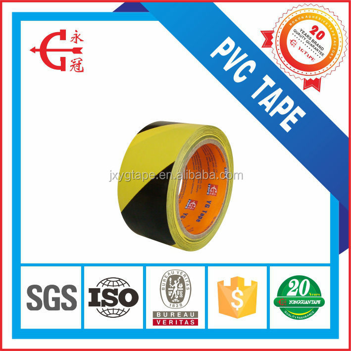 0.18mm Adhesive underground detectable PVC warning tape