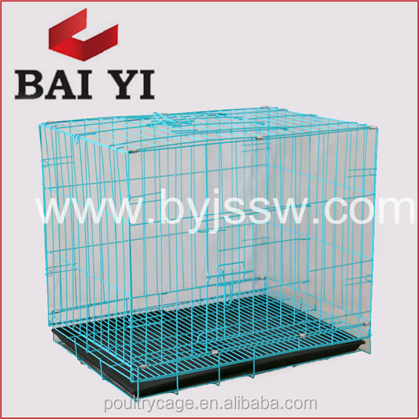 Wholesale Small Stainless Steel Pet Dog Cage / Portable Outdoor Dog Cage (Factory Price)