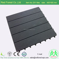 Exterior wood plastic composite WPC deck tiles WPC flooring boards