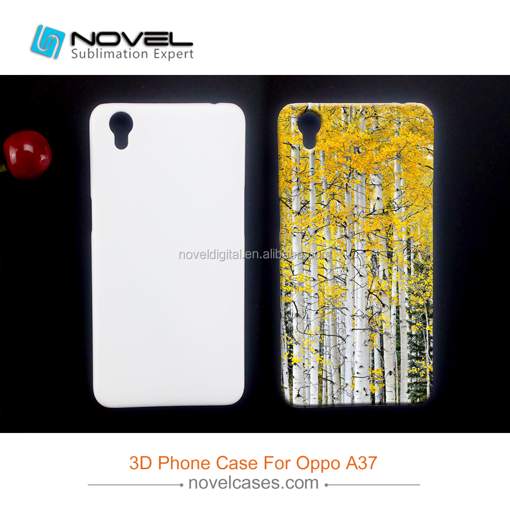 Diy 3D Phone Case For OPPO A37,Sublimation Blank Cover Case