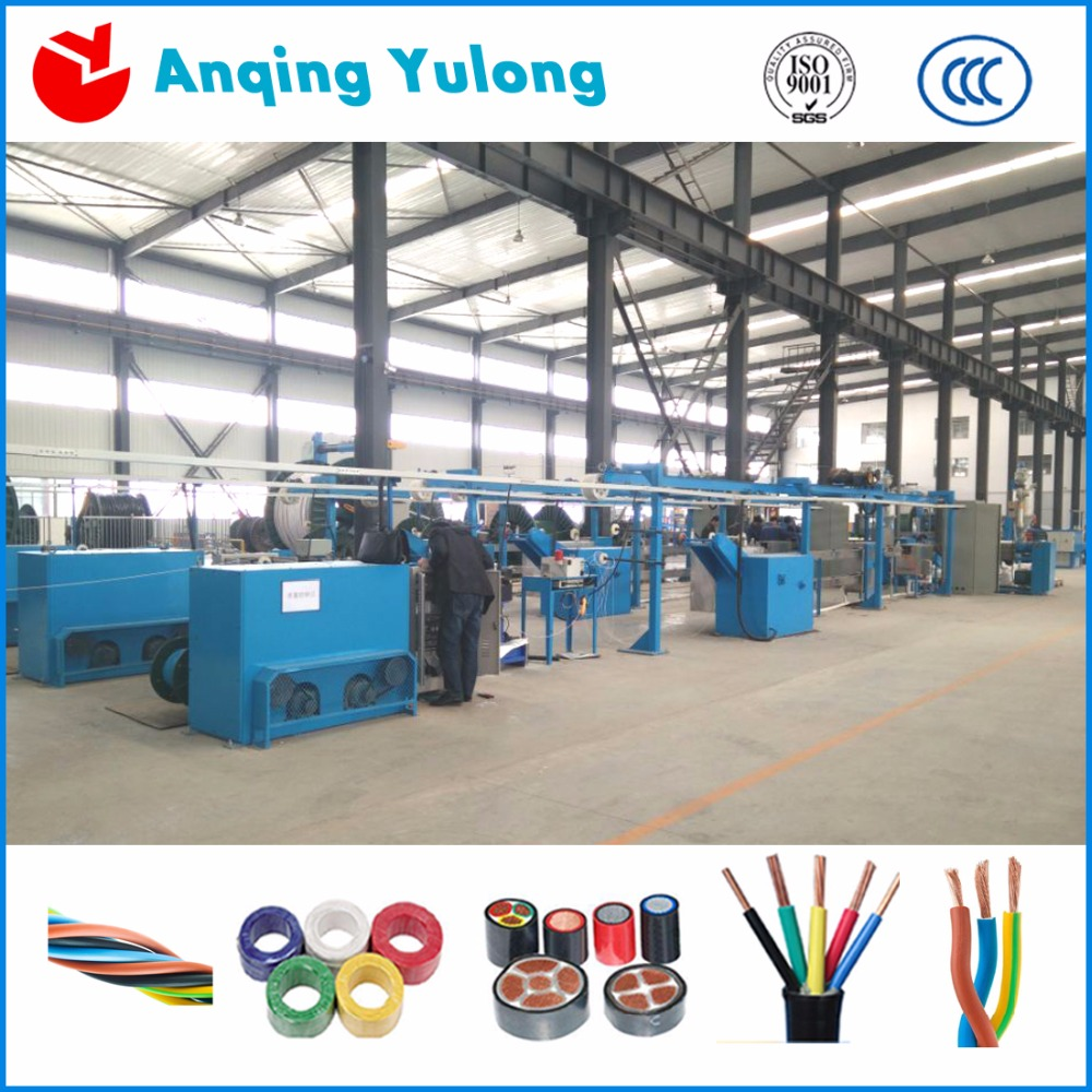 High Quality wire and cable making equipment for elelctrical wire &cable power cable