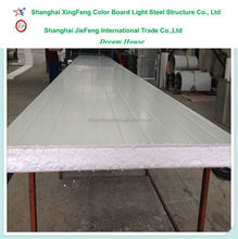 2016 Low Cost Building Material Wall Roof EPS Sandwich Panels/thermal insulation Polystyrene EPS Sandwich wall Panel