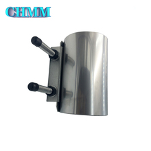Union Pipe Fittings Pvc Pipe Repair Clamp Stainless Steel Water Pipe Clamp