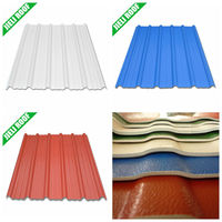 UPVC Plastic Corrugated Roofing Sheet
