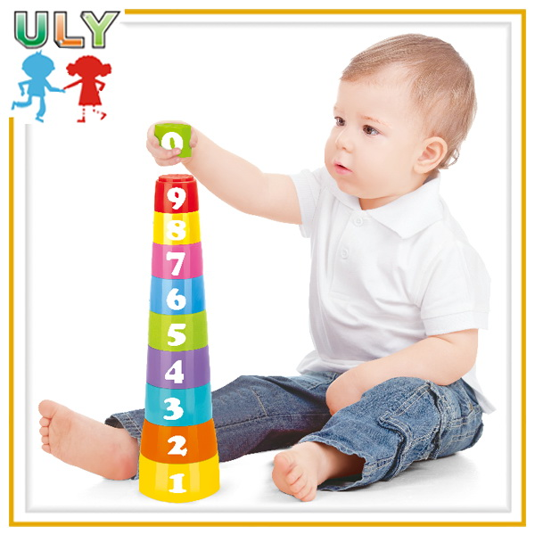 Stacking Cups Tumbler Roly-poly Game Play Set for Kids