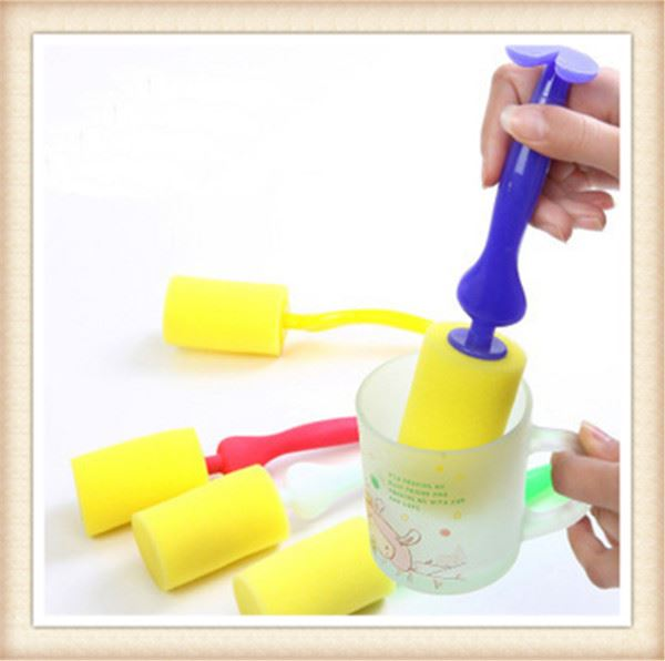 New model cleaning tools silicone baby bottle brush