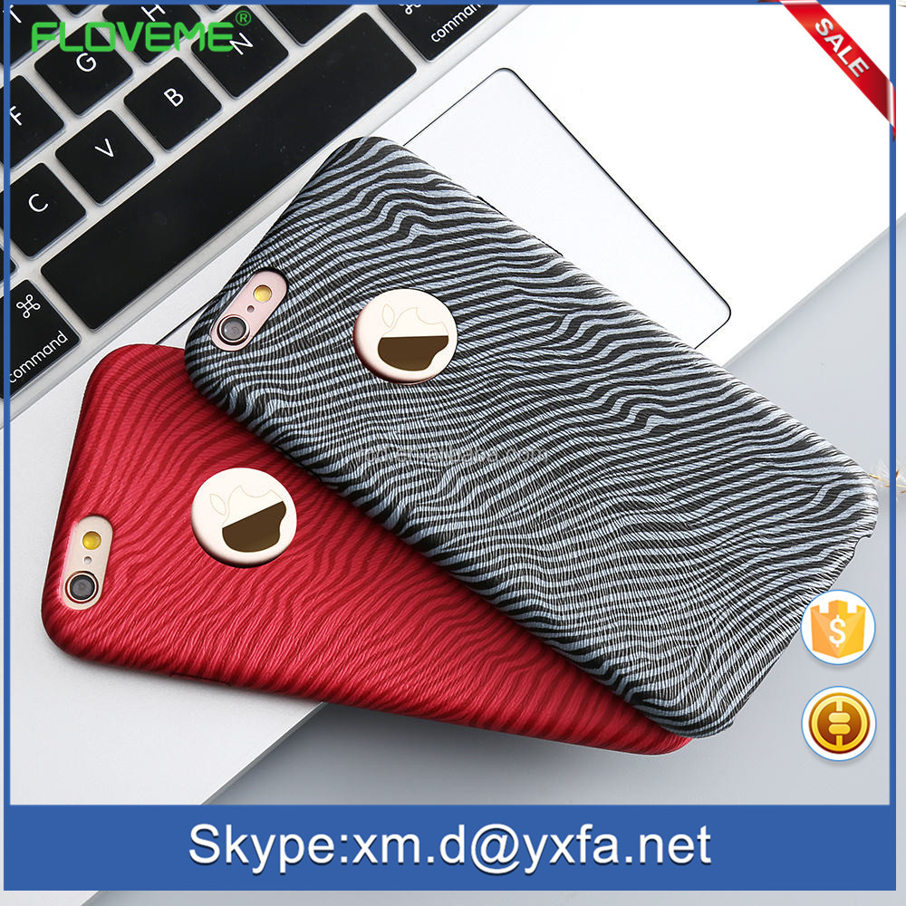 "Drop Ship Acrylic Case Cover For Apple IPhone5 5S 6 6S 6S Plus 4.7"" Soft Bumper Fashion Zebra Pattern Fashion Cover For"