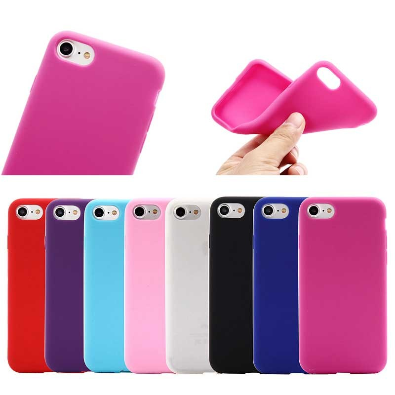 2016 new glossy silicone tpu cover case for iphone 4 4s 5 5s 6s 6plus 7 7plus,for iphone 7 silicone case