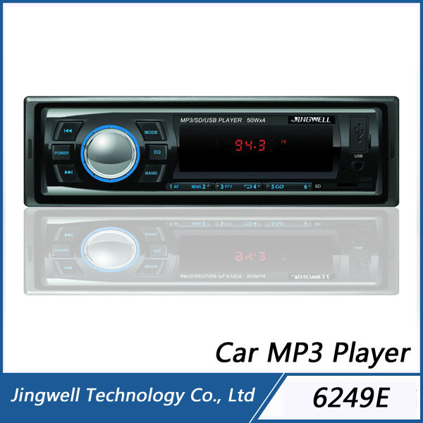 Jiangmen 18 Preset Stations Car Mp3 Player LED Display FM USB MP3 Car Audio
