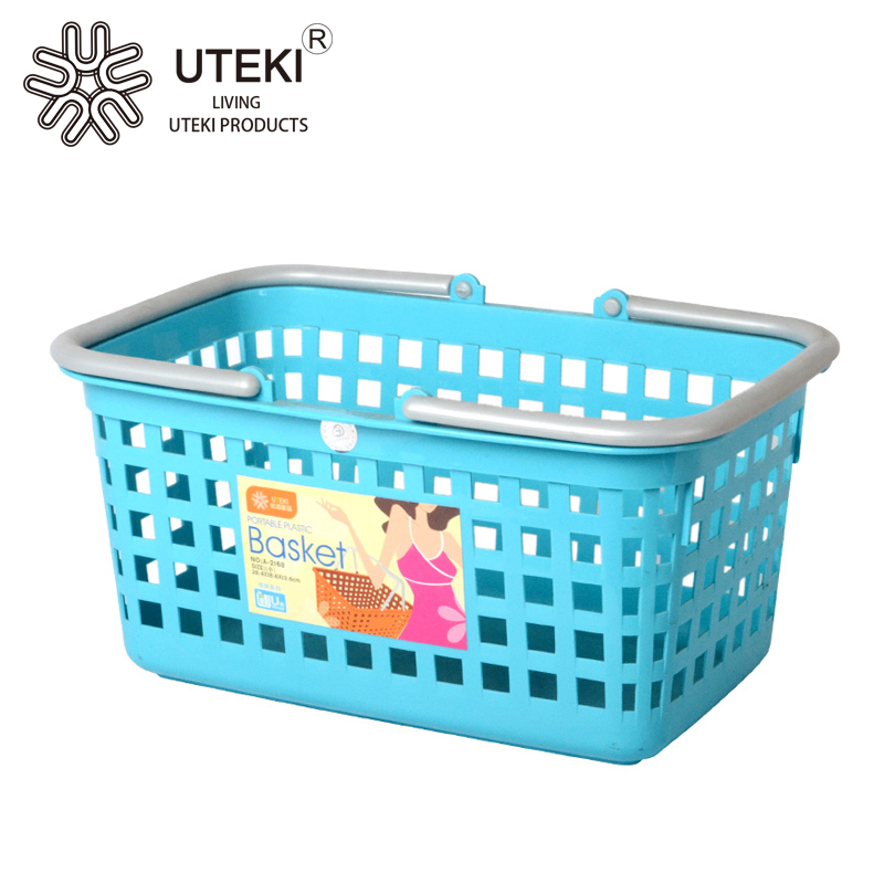 Small plastic kitchen vegetable storage basket wholesale