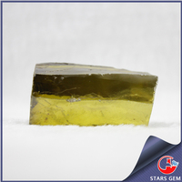 China manufacturer olive irregular shape rough uncut gemstones buyers