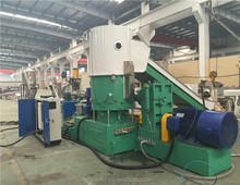 Plc control Double stage granulation line/PP PE two stage recycling pelleting line