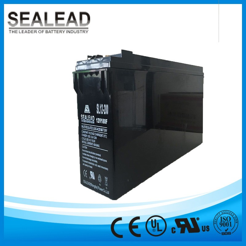 hot sale front terminal maintenance free vrla sealed series solar energy storage 12v 200ah 200amp battery