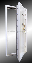 Bank vault Security safety doors with strong locking bolts