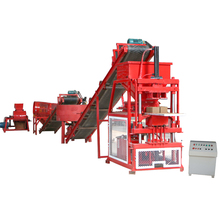 YLF2-10 eco maquinas clay soil brick making machine industry plant factory Africa