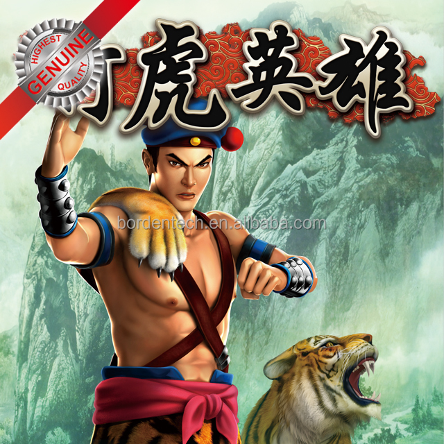 TIGER HERO - Video slot gambling game board