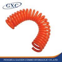 Flexible pvc pipe spring air hose