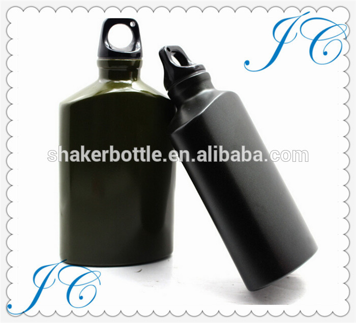 2017 hot sell 16oz Eco-friendly custom attactive military aluminum water bottle