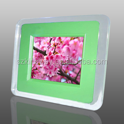 3.5 inch battery operated digital photo frame
