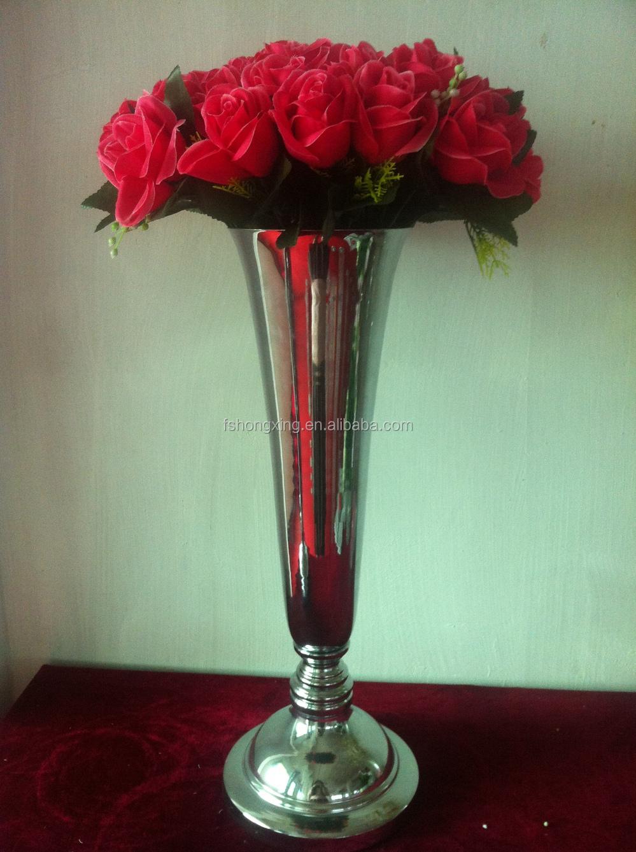 Tall Centerpiece Stands : Tall wedding crystal pillar stand flower