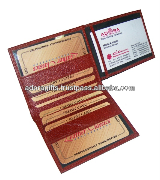 ADACCC - 0020 high quality name card case / leather card holders name / business card holder for women