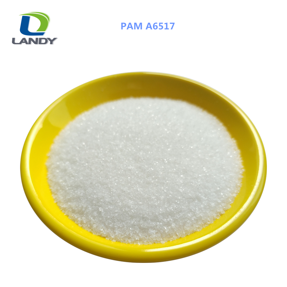 BEST PRICE OF POLYACRYLAMIDE A6517 ANIONIC PAM POWDER FOR WASTE WATER TREATMENT PLANT