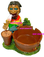 Jamaican Seed Planting Gardener Ashtray
