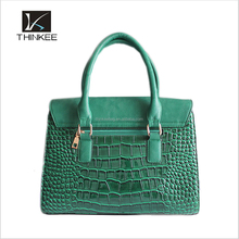 Hot! 2016 Latest Fashion Travel Snakeskin Leather Bags Designer Ladies Bag High Quality PU Leather Woman Handbags from China