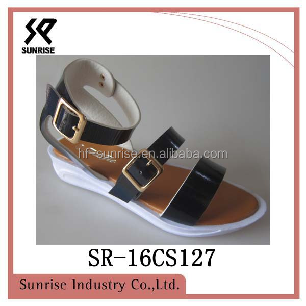 ladies flat high heel sandal 2016 sepatu sandal baru ladies sandals photo