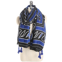 High Quality Women Printed Cotton Shawl Banadana Autumn Lady Polyester Wraps ROMA1691 Frees Shipping Spring Long Scarf