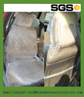 LDPE Two Pocket Plastic Auto Seat Cover