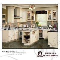 birch wood kitchen cabinet