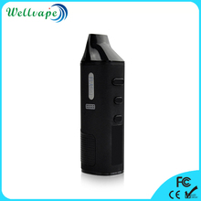 2017 new coming LED display ceramic chamber Flash vaporizer dry herb wax