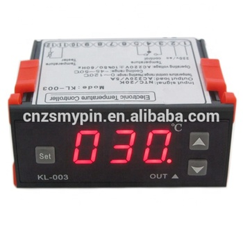 Cool and Heat auto switch microcomputer temperature controller /thermostat