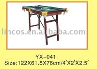 MDF pool table