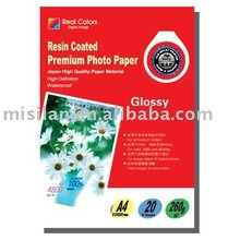 260g Premium RC Glossy Photo Paper