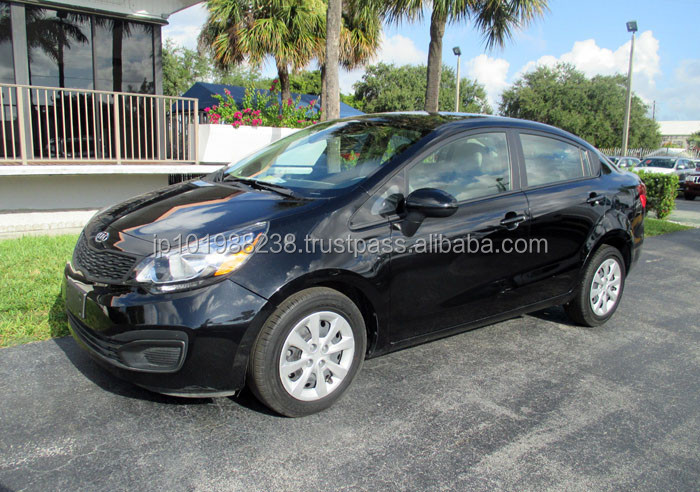 USED CARS - KIA RIO LX - FRONT RIGHT SIDE (LHD 819684)